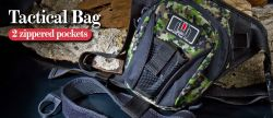 Чанта Molix Tactical Bag Black/Camo - MTB-BK/C