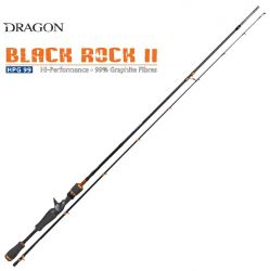 Прът Dragon Black Rock II Spinning 2.13m. 10-35gr