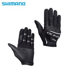 Ръкавици Shimano OCEA Stretch Mesh Glove GL-245S - Black