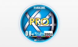 Плетено влакно DUEL Hardcore X4 PRO 200m. Multi Color
