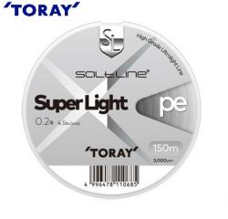 Плетено влакно TORAY SALT LINE Super Light 150m