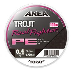 Плетено Влакно Toray Trout Real Fighter 100m.