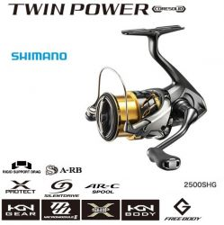 Shimano 20 Twin Power 2500S HG