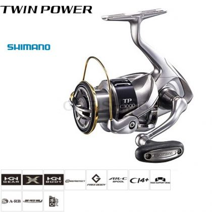 Макара Shimano Twin Power 2015 4000XG