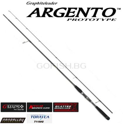 Прът Graphiteleader ARGENTO PROTOTYPE 942ML --2,85m. 7-32gr. Made in Japan