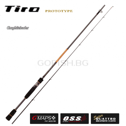 Прът Graphiteleader Tiro PROTOTYPE GOTPS-772M-T  2,31m. 5-28gr. Made in Japan