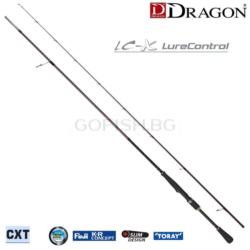 Dragon CXT Spinn LureControl LC-X spinning rods