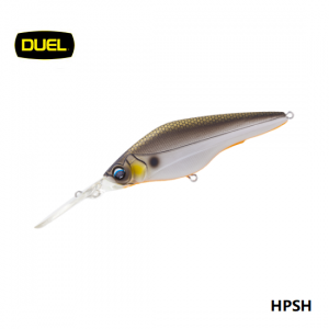 DUEL Hardcore Shad 75SP 75mm. F966-GSAY