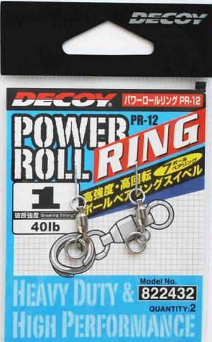 Вирбел за джиг DECOY Power Roll Ring PR-12