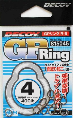 Solid Ring special jigging DECOY GP Ring