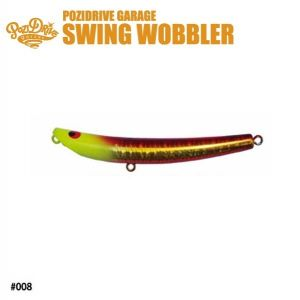 Воблер POZIDRIVE GARAGE SWING Wobbler 145S (model:43) 43gr.