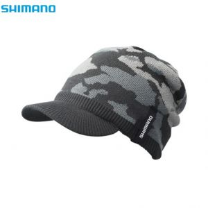 Шапка Shimano Knit Watch Cap CA-085R-Black Camo