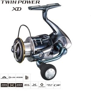 Макара Shimano Twin Power XD  4000XG