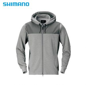 Полар с цип и качулка Shimano PARKA WJ-074S color:Gray