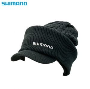 Зимна Шапка+шал Shimano 2 Way Cap CA-075S-Black color