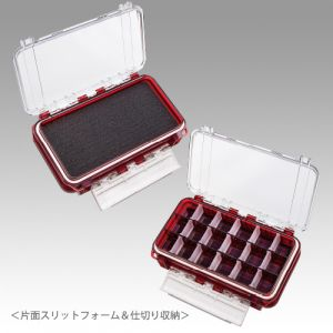 MEIHO Waterproof Case WG-1 Clear RED