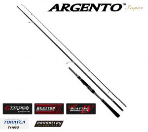 Прът Graphiteleader SUPER ARGENTO GOSARS-1033M --3,12m. 10-40gr. Made in Japan