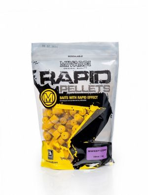 MIVARDI Пелети Rapid Sweet Corn 12mm 1kg