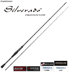 Прът Graphiteleader SILVERADO Prototype 20GSILPS-762ML 2,29m. 3-15gr. Made in Japan