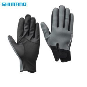 Ръкавици 3-5 пръста Shimano Titanium Pearl Fit Gloves GL-099T