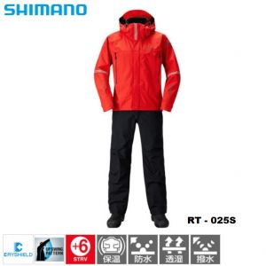 Яке + панталон Shimano DS Advance Techno Suite RT-025S - color Red