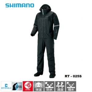Яке + панталон Shimano DS Advance Techno Suite RT-025S - color Black