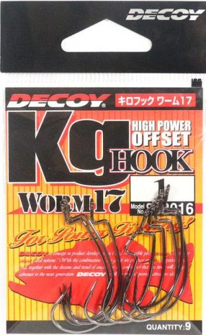 Куки DECOY Offset KG Hook Worm 17